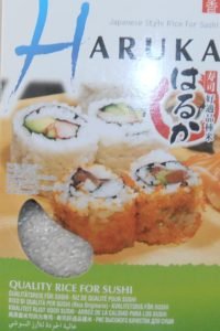 Haruka kulatozrnná rýže na sushi,vhodná i jako příloha